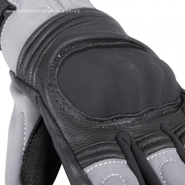 d3a7b4fb5 Motooblečení | Zimní kožené/textilní moto rukavice W-TEC NF-4004 ...