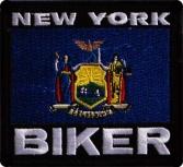 Nášivka New York Biker 5fc8d28ec2