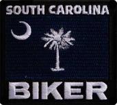 Nášivka South Carolina Biker c65333264c