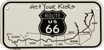 SPZ Bike Tag Route 66