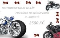 Poukaz na odběr zboží - 2500 Kč