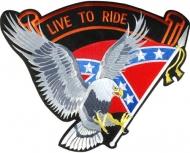Nášivka Rebel Flag Eagle XXL dac3a92b55