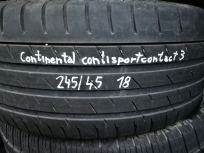 Continental ContiSport Contact 3 245/45 R18