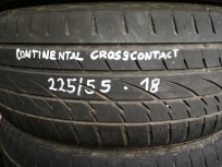 Continental Cross Contact 225/55 R18