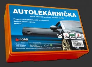Zvětšit Autolékárnička - Plastová ČR