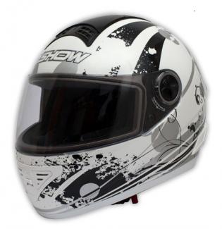 Zvětšit Helma GP bílá, velikost L